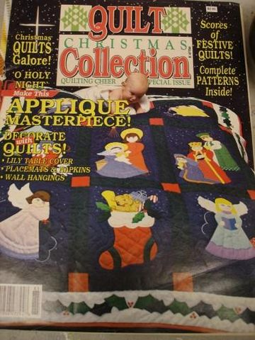 Quilt,Christmas,Collection,special,Issue,1988,christmas quilting, quilt chrsitmas collection, kg krafts