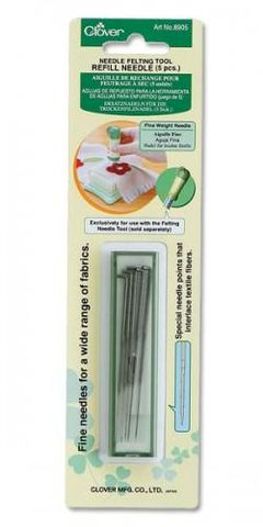 Felting,Needle,Refill,Fine,Weight,clover, felt needles, felting, felting needles
