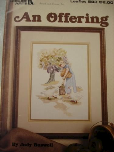 An Offering by Judy Buswell for Leisure arts  #583 - product images