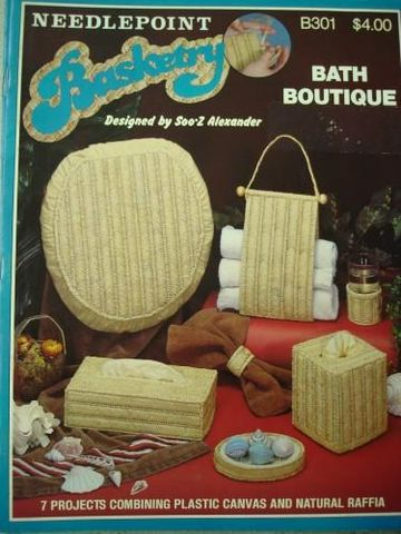 Bath,Boutique,Basketry,Plastic,Canvas,baskets, plastic canvas, patterns, bath boutique,kg krafts,handcrafts,needlepoint,needlecrafts
