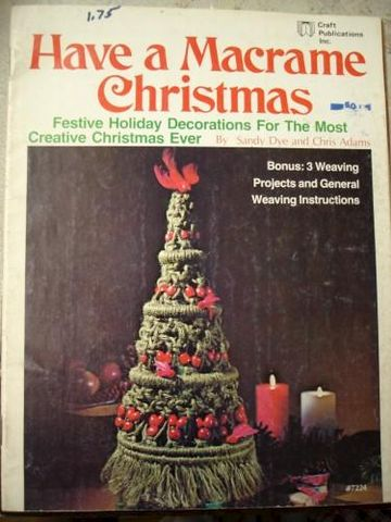 Have,A,Macrame,Christmas,Festive,Decoractions,for,a,Creatvie,Holiday,have a macrame chrsitmas, sandy dye, chris adams, macrame, cord,kg krafts