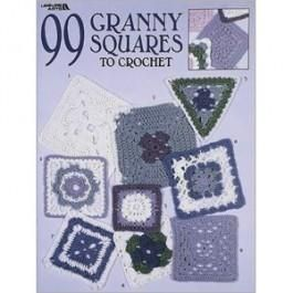 99,Granny,Squares,To,Crochet,knitting, pattern, crochet, granny, squares, afghan, leisure arts, kg krafts
