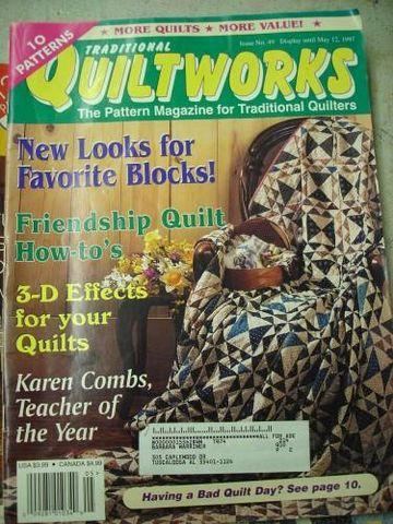 Traditional,Quiltworks,no,49,for,the,traditional,Quilter,cross stitch, patterns, quilting traditions, traditional quilting, magazine, no 49, kgkrafts
