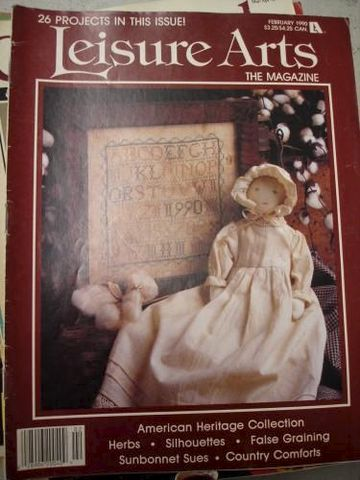 Leisure,Arts,February,1990,cross stitch, patterns, leisure arts, february, kg krafts
