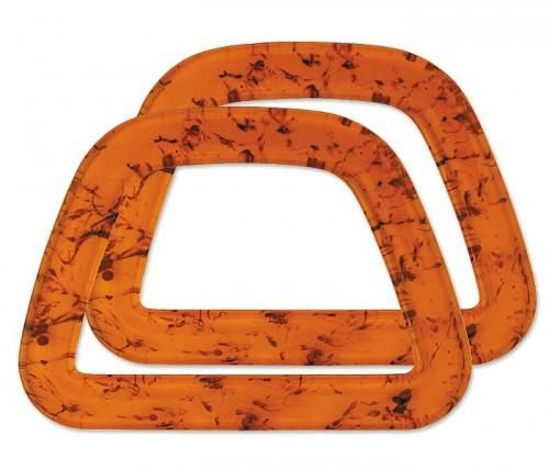 Bag Handle D Shape Amber From Clover Needlearts - product images