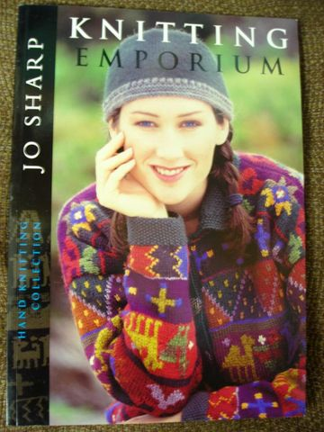 Knitting,Emporium,by,Jo,Sharp,Knitting Emporium by Jo Sharp, Knitting patterns, leading ladies, knitting industry, family, sweaters, vests, hats and more, knitting book