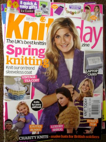 Knit,Today,March,2012,Issue,70,Spring,Knitting,Knitting Today, March 2012, Issue 70, Spring Knitting, knit, crochet, patterns, instructional