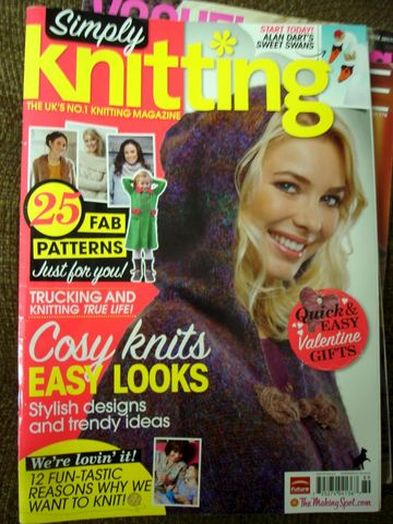 Simply,Knitting,February,2012,The,UK's,No,1,Magazine,Simply Knitting, February 2012, The UKs No 1 Knitting Magazine, patterns, knits, crochet, instructions