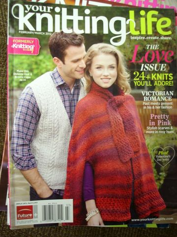 Your,Knitting,Life,formerly,Today,February,March,2012,Your Knitting Life, Knitting Today, February March 2012, knit patterns, family, knit, crochet, instructions, patterns