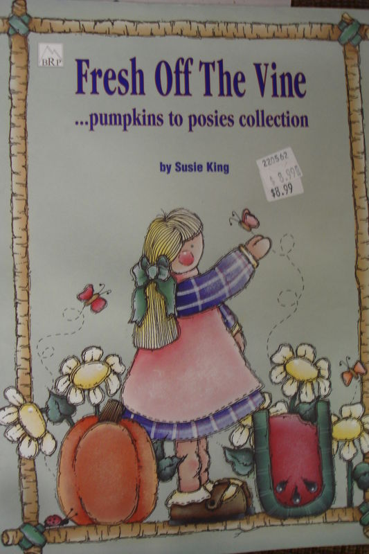Fresh off The Vine .... Pumpkins to Posies Collection by Susie King - product image
