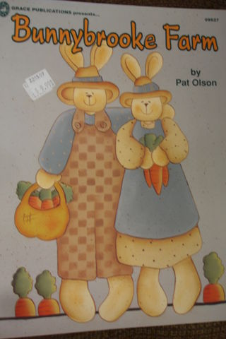 Bunnybrooke,Farm,by,Pat,Olson,Bunnybrooke Farm,Pat Olson,painting, bunnies,rabbits