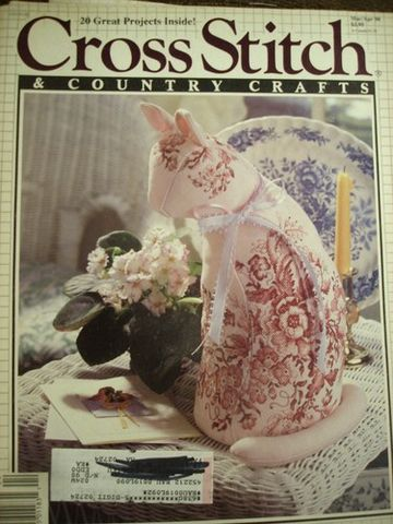Better,Homes,and,Gardens,Cross,Stitch,Country,Crafts,Mar/Apr,1990,Better Homes and Gardens Cross Stitch and Country Crafts ,Mar/Apr 1990,counted cross stitch,needlework,instructions,patterns,kg krafts, crafts,craft supplies