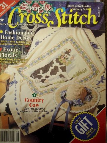 Simply,Cross,Stitch,Magazine,number,24,Simply Cross Stitch Magazine number 24,needlepoint,needlework,kg krafts, counted cross stitch