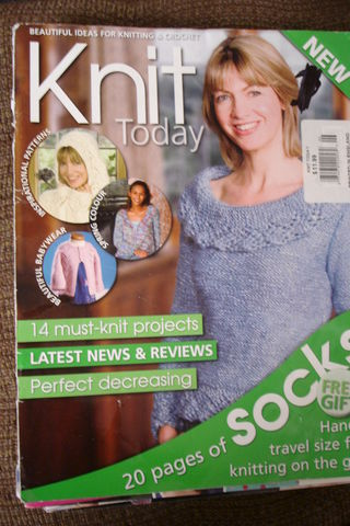 Knit,Today,Magazine....no.,06,February,issue,knit today magazine,no. 06 magazine,february,sock,patterns,sweater patterns,kg krafts,knitting today