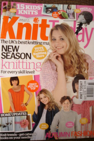 Knit,Today,Magazine,issue,76,Knit Today Magazine issue 76, kids,sweaters, home decor, toys,kg krafts,patterns,knit,crochet
