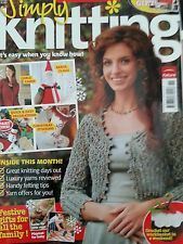 Simply,Knitting,Magazine,issue,no.,47,simply knitting magazine issue no 47,patterns,knit,crochet,santa,ornaments,sweaters,socks,kids knit patterns,kg krafts