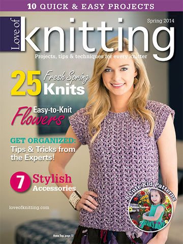 Fon's,and,Porter's,Love,of,Knitting,Spring,2014,Fons and Porter,magazine,spring 2014,sweater,knit,crochet,patterns,kg krafts