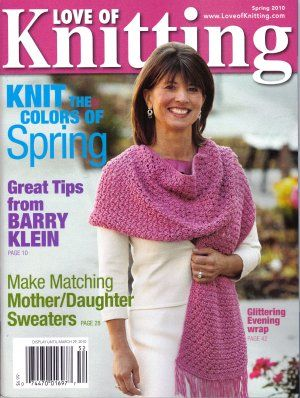 Love of Knitting Magazine Spring 2010 - product images