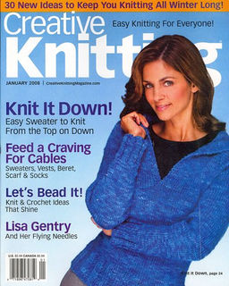 Creative,Knitting,Magazine,Janurary,2008,Creative Knitting Magazine Janurary 2008,kg krafts,kntting,instructions,crochet