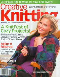 Creative,Knitting,Magazine,November,2007,Creative Knitting Magazine November 2007,kntting,crochet,kg krafts