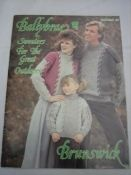 Ballybrae,Sweaters,for,the,Great,Outdoors,by,Brunswick,Vol.,846,Ballybrae Sweaters for the Great Outdoors by Brunswick Vol. 846,knitting patterns,kg krafts,cable sweaters
