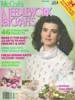 McCalls,Needlework,&,Crafts,April,1990,McCalls Needlework & Crafts april 1990,kg krafts,knit,crochet,craft, patterns