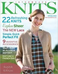 Interweave,Knits,Spring,2009,Magazine,Interweave Knits Spring 2009 Magazine,kg krafts,knitting,crochet,patterns