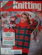 Fashion Knitting Number 62 December 1992 - product images