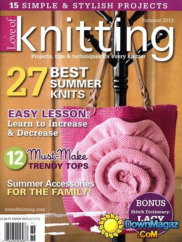 Love,Of,Knitting,Summer,2013,Love Of Knitting Summer 2013,kg krafts,purses,sweaters,knitting,crochet,patterns