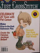 Just,Cross,Stitch,October,1993,Just Cross Stitch October 1993,kg krafts,counted cross stitch,patterns