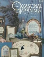 Occasional,Happenings,Do,Count,Volume,1,Occasional Happenings Do Count Volume 1,kg krafts,counted cross stitch,needlearts