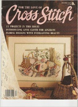 For,The,Love,of,Cross,Stitch,Magazine,Premier,Issue,For The Love of Cross Stitch Magazine Premier Issue,kg krafts,counted cross stitch