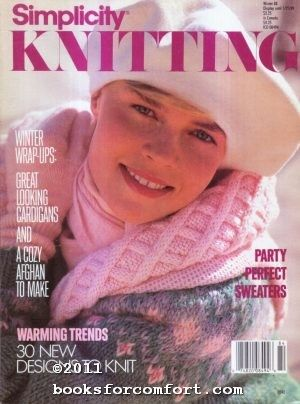 Simplicity,Knitting,Winter,88,Simplicity Knitting Winter 88,kg krafts,knitting,crochet,magazine