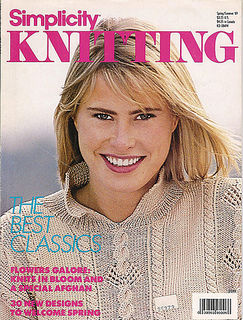 Simplicity Knitting Spring/Summer 89 - product images