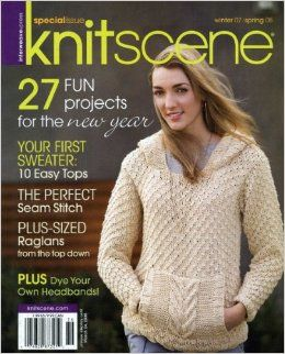 Special,Issue,Knitscene,Winter,07/Spring,08,Special Issue Knitscene Winter 07/Spring 08,kg krafts,knitting,crochet,patterns