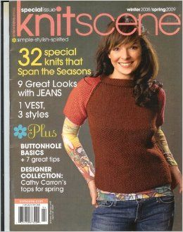 Special,Issue,Knitscene,Winter,2008/Spring,2009,Special Issue Knitscene Winter 2008/Spring 2009,kg krafts,knitting,crochet,magazine