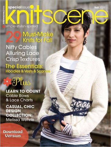 Special,Issue,Knitscene,Fall,2009,Special Issue Knitscene Fall 2009,kg krafts,knit patterns,crochet