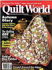 Quilt World September 2002 - product images