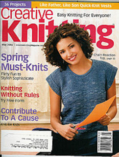 Creative Knitting May 2006 - product images