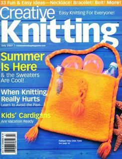 Creative,Knitting,July,2007,Creative Knitting July 2007,kg krafts,craft supplies,knit,crochet