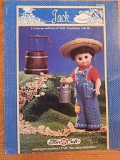 Jack,Fashion,Classics,from,Fibre,Craft,Jack Fashion Classics from Fibre Craft,15 inch doll,kg krafts,crochet patterns
