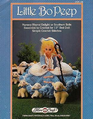 Little,Bo,Peep,Fashion,Classics,from,Fibre,Craft,Little bo peep Fashion Classics from Fibre Craft,15 inch doll,kg krafts,crochet patterns,bed doll