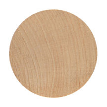 Wood Circle / Disc Cut Outs  2-3/8