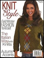 Knit,n',Style,Real,Fashion,for,Knitters,October,2006,Knit n' Style Real Fashion for Real Knitters October 2006,knit,crochet,patters,instructions,kg krafts