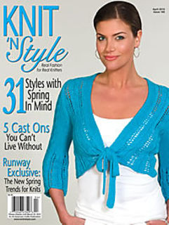 Knit,n',Style,Real,Fashion,for,Knitters,April,2010,Knit n' Style Real Fashion for Real Knitters April 2010,knit,crochet,patters,instructions,kg krafts