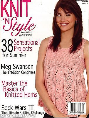 Knit,n',Style,Real,Fashion,for,Knitters,June,2008,Knit n' Style Real Fashion for Real Knitters June 2008,knit,crochet,patters,instructions,kg krafts