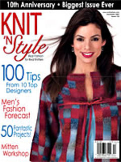 Knit,n',Style,Real,Fashion,for,Knitters,December,2007,Knit n' Style Real Fashion for Real Knitters December 2007,knit,crochet,patters,instructions,kg krafts