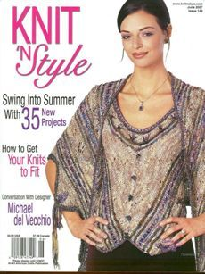 Knit n' Style Real Fashion for Real Knitters June 2007 - product images
