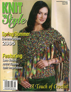 Knit,n',Style,Real,Fashion,for,Knitters,June,2005,Knit n' Style Real Fashion for Real Knitters June 2005,knit,crochet,patters,instructions,kg krafts
