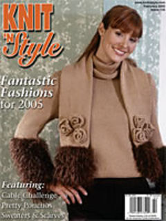 Knit n' Style Real Fashion for Real Knitters February 2005 - product images